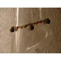 Bracelet cheville rakhang rasta