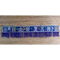 Broderie tibétaine Om mani tashi