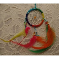 Dreamcatcher rainbow flashy II