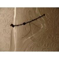 Bracelet cheville hin noir/marron