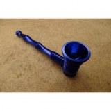 Pipe alu bleu