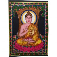 Petite tenture vitarka Bouddha