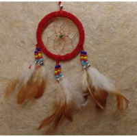 Dreamcatcher rouge kum II