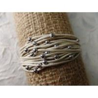 Bracelet kawat blanc