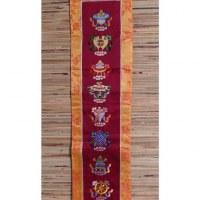 Broderie tibétaine Astamangala