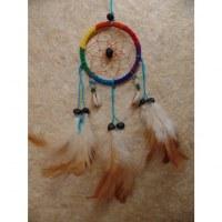 Attrape rêves Sioux arc en ciel II