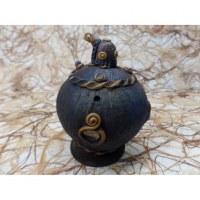 Brûle encens boule tortue