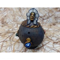 Brûle encens boule indien