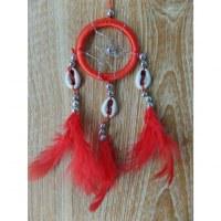 Capteur de rêves rouge wiyaka