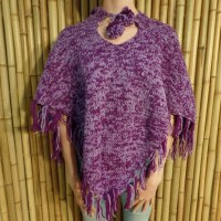 Poncho Potosi violet