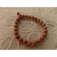 Bracelet tibétain rhodonite