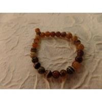 Bracelet tibétain agate