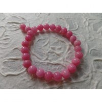 Bracelet tibétain opale rose