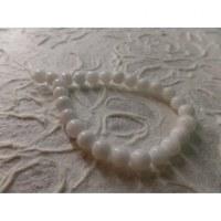 Bracelet tibétain jade blanc