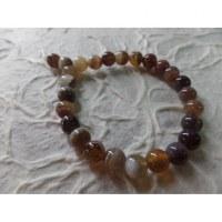 Bracelet tibétain agate Botswana
