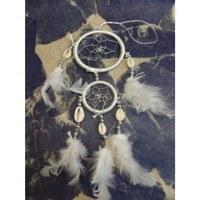 Capteur de rêves blanc apache