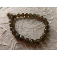 Bracelet tibétain labradorite