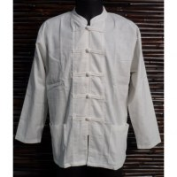 Chemise blanche kung fu
