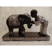 Le moine et l'éléphant
