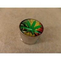 Grinder métal leaf