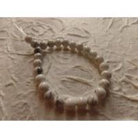 Bracelet tibétain howlite