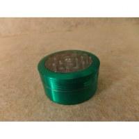 Grinder poussoir vert métal