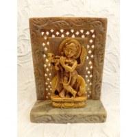 Statuette Krishna le joueur de flûte
