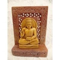 Statuette Bouddha abhayamudra