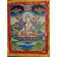 Grand thangka White Tara
