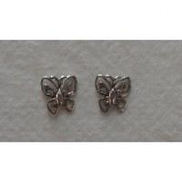 Clous d'oreilles butterfly