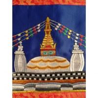 Tanka brodé stupa Swayambhu