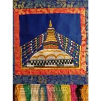 Tanka brodé stupa Swayambhu 2