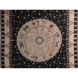 Maxi tenture astrologia beige/noir