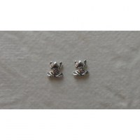Clous d'oreilles grenouilles tachetées