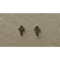 Clous d'oreilles croix celtes