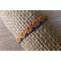 Bracelet brésilien Manaus plat 16