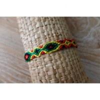 Bracelet brésilien Manaus plat 25