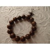 Bracelet tibétain perles foncées
