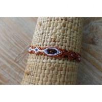 Bracelet brésilien Manaus plat 45