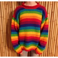 Pull Cabaray rainbow