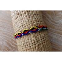 Bracelet brésilien Manaus plat 47