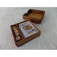Coffret jeu de cartes + dés