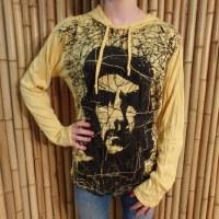 T shirt manches longues Che Guevara jaunes