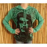 T shirt manches longues Che Guevara vert