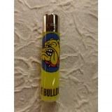 Briquet bulldog jaune fluo