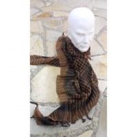 Foulard Riyad marron