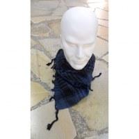Foulard Riyad bleu acier