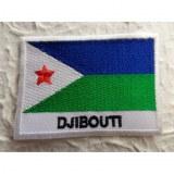 Ecusson drapeau Djibouti