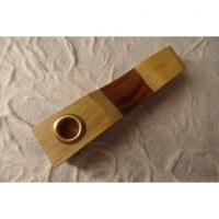 Pipe bois bicolore