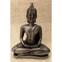 Bouddha Dhyani-Mudra argenté